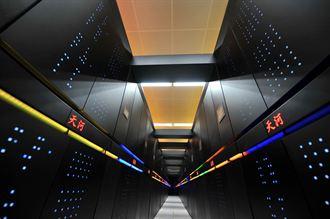 陸超級電腦 用英特爾晶片