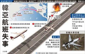 目擊者:飛機降落先撞海堤