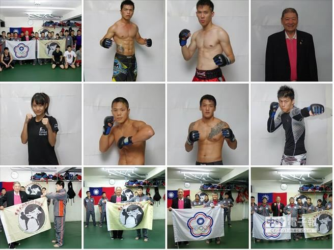 台灣UFC終極戰士出征新加坡。