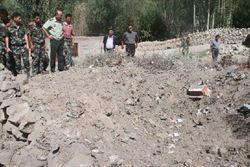 新疆阿克陶疑似隕石墜落