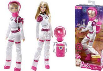 芭比娃娃2013年度最夢幻的新職業 火星探險芭比