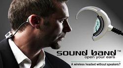 Band Sound「耳震式藍牙耳機」免耳機塞也能聽音樂
