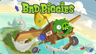 Bad Piggies搗蛋豬飛上天,這回要偷吃點心!