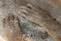 山東農民挖出清代不腐屍體丟棄被刑拘