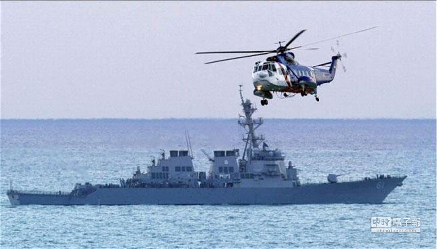 圖為目前部屬在地中海的美國驅逐艦。﹝資料照片 美聯社﹞