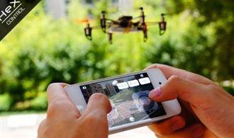 超有樂高組裝Fu!首款採3D列印、可用手機搖控的HEX飛機