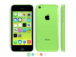 iPhone5C正式現身 五色機繽紛上市