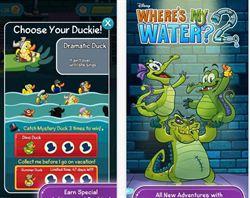 2代版的鱷魚小頑皮愛洗澡 Where's My Water? 2 免費上架
