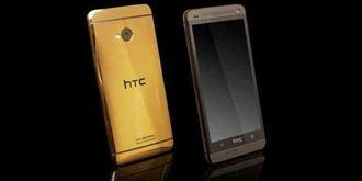喜金A!!24K純金HTC New One在俄國販售