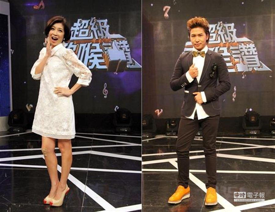 有感於近來年輕人口味改變,歐漢聲表示:「台灣綜藝節目需要改革」; 而黃嘉千代班主持帶上女兒「Poppy」 盼努力第二胎。(圖/中視提供)