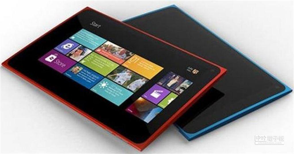 傳聞已久的諾基亞首款Windows RT平板Lumia 2520,可能在10月22日正式發表。(摘自網路)