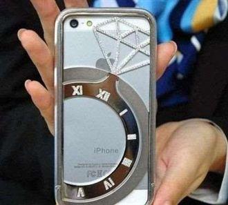 黃金iPhone不稀奇 含鑽石iPhone外殼售價110萬元