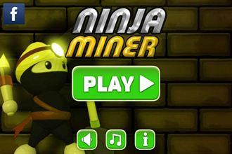 忍者探險趣!「Ninja Miner」忍者快跑!
