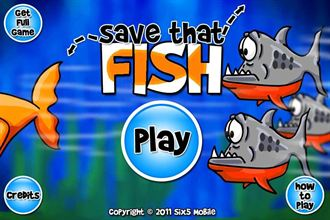 「Save That Fish Free」拯救被拆散的金魚夫妻!