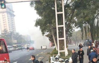 山西省委爆炸案 1死8傷