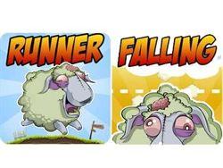 消磨時間就來玩「Zombeee Falling」、「Zombeee Runner」殭屍羊小遊戲!