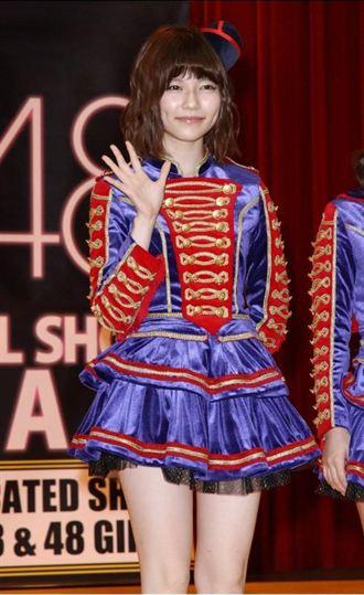 AKB48團員島崎遙香抱病來台會粉絲