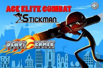 跟想像的完全不一樣的火柴人遊戲 「Ace Elite Army Battle Stickman Chase FREE」