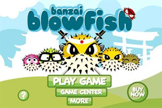 完成河豚的英雄救美吧!「Banzai Blowfish Free」