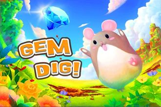 跟著小老鼠一起挖寶藏 「Gem Dig!」