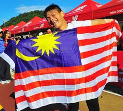 曾志龍挑戰100公里失利 仍創世界紀錄