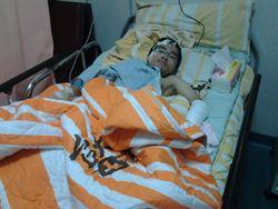 環島成功的玻璃娃娃陳彥廷被撞肇逃
