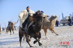 內蒙冰雪文化節 傳統民俗上陣
