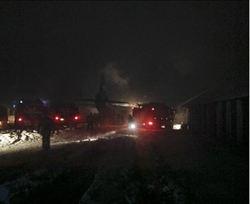 俄運輸機墜毀 9人罹難