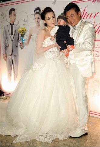 林佑星補請婚宴 四個月大兒子可愛亮相