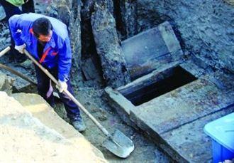 南京漢墓挖出長劍 又出土古代保險箱