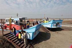 台西海口生活館試營運 彩繪漁船見證