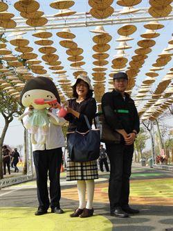 NIKE台灣製造商 贊助雲林農博L廊道 超時尚