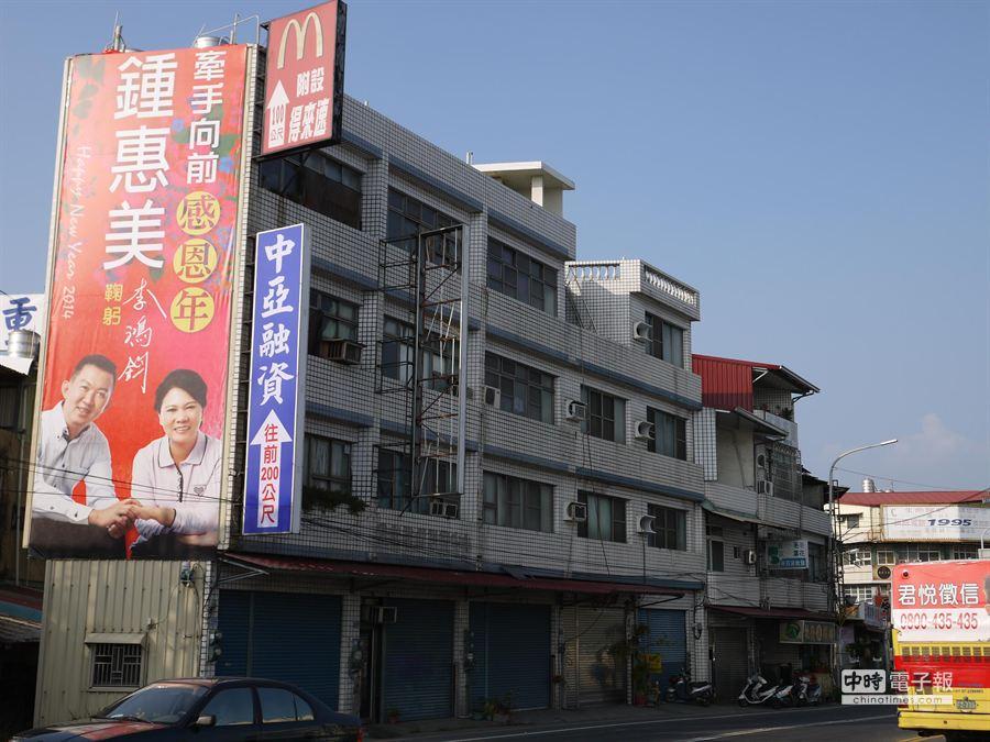 前議員李鴻鈞因案解職,妻子鍾惠美將代夫出征。(劉宥廷攝)
