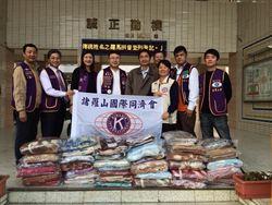 嘉義公益團體攜手 200毛毯送貧童