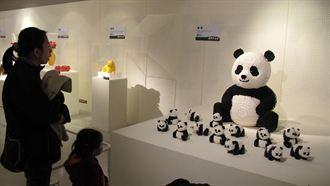 新光三越台中店 首度展出積木大型創作展