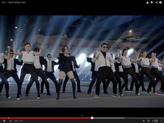 Psy大叔再發威 蟬聯Youtube點擊冠軍
