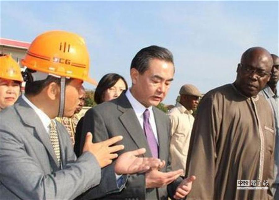 中共外交部長王毅。(圖:新華社)