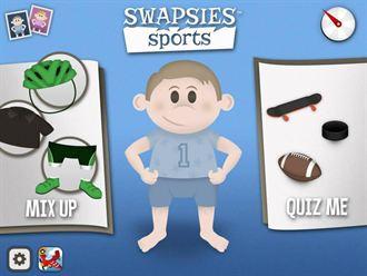 Swapsies Sports最適合小朋友玩的迷你運動員