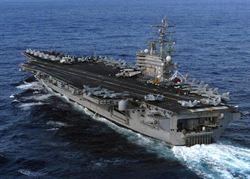 美軍宣布調派最新核航母駐日