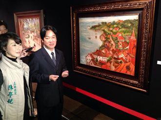 陳澄波二億畫作真跡 台南首展