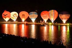 屏東大鵬灣跟流行 也要辦熱氣球嘉年華