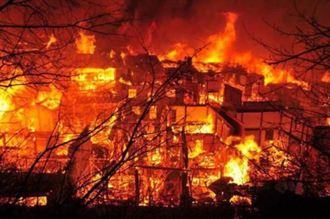 雲南古城火災 肇因未關電暖器