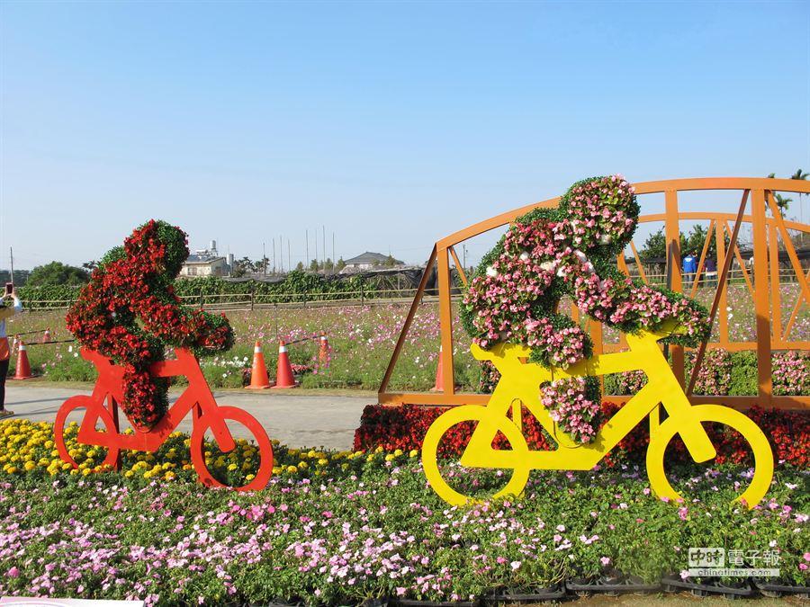 想過個健康又陽光的農曆春節?騎自行車是不錯的選擇。(盧金足攝)