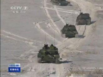 中朝邊境 大陸99改坦克首次公開