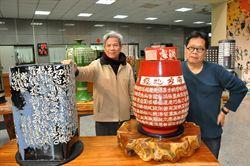 佛經瓷刻巨型陶瓶 創作精緻
