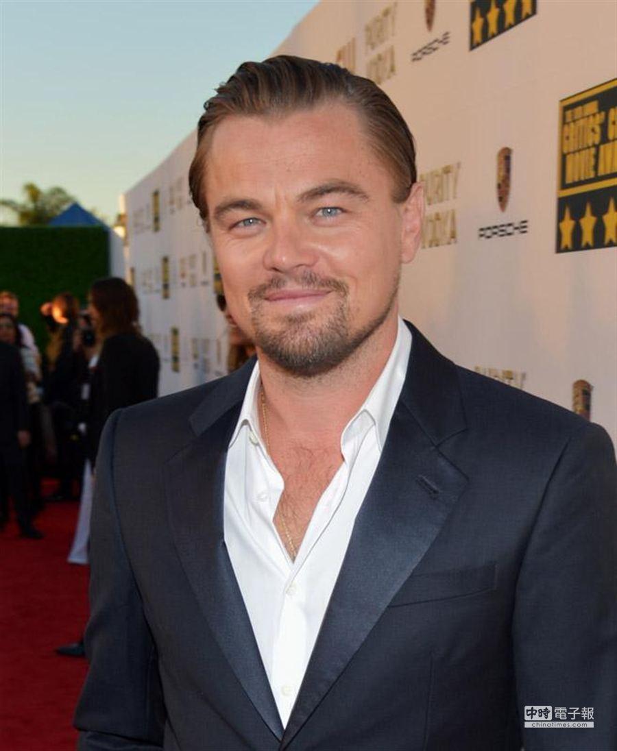 美國影星李奧納多(Leonardo Dicaprio)。(美聯社)