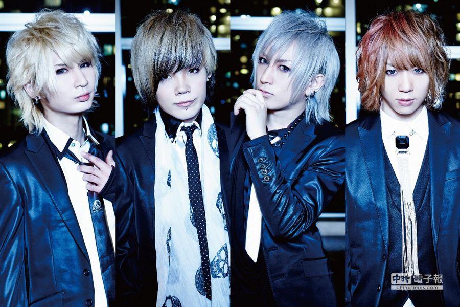 DaizyStripper三月將來台演出,與其他日本視覺系樂團軋嗓。(豐華唱片提供)