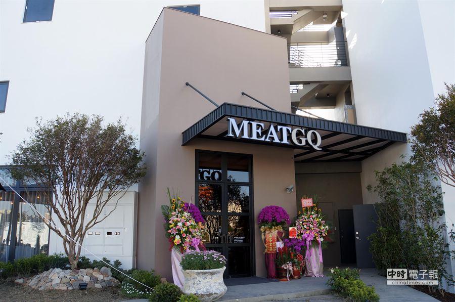 採獨幢式花園餐廳規畫設計的MEATGQ牛排館,因面積遼闊,設計團隊得以淋漓演繹品味空間。(姚舜攝)