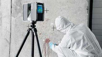 3D光學掃描系統 紀錄犯罪新利器