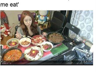 南韓新時尚:網路直播吃飯